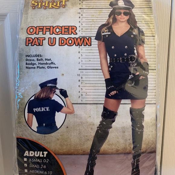 Women's Cop Halloween Costume